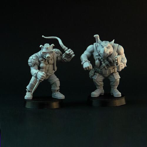 Two Freaks (2 models)