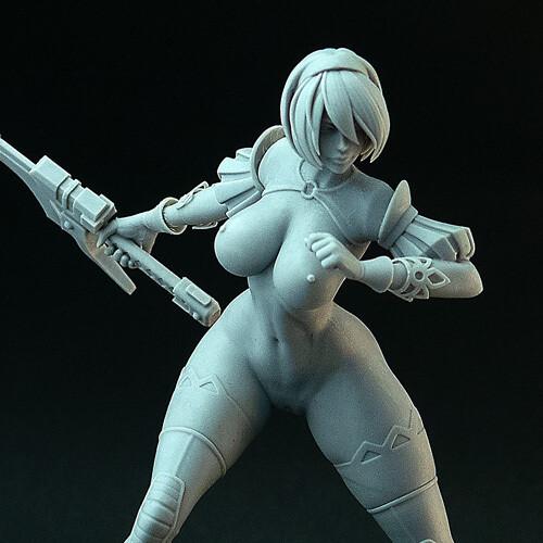 Cyber Mercenary (naked ver.)
