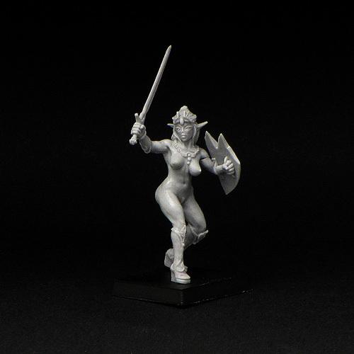 Elven Warrior Girl