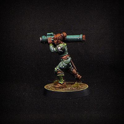 Female GrenadeThrower