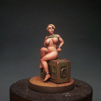 Captive on ammo box