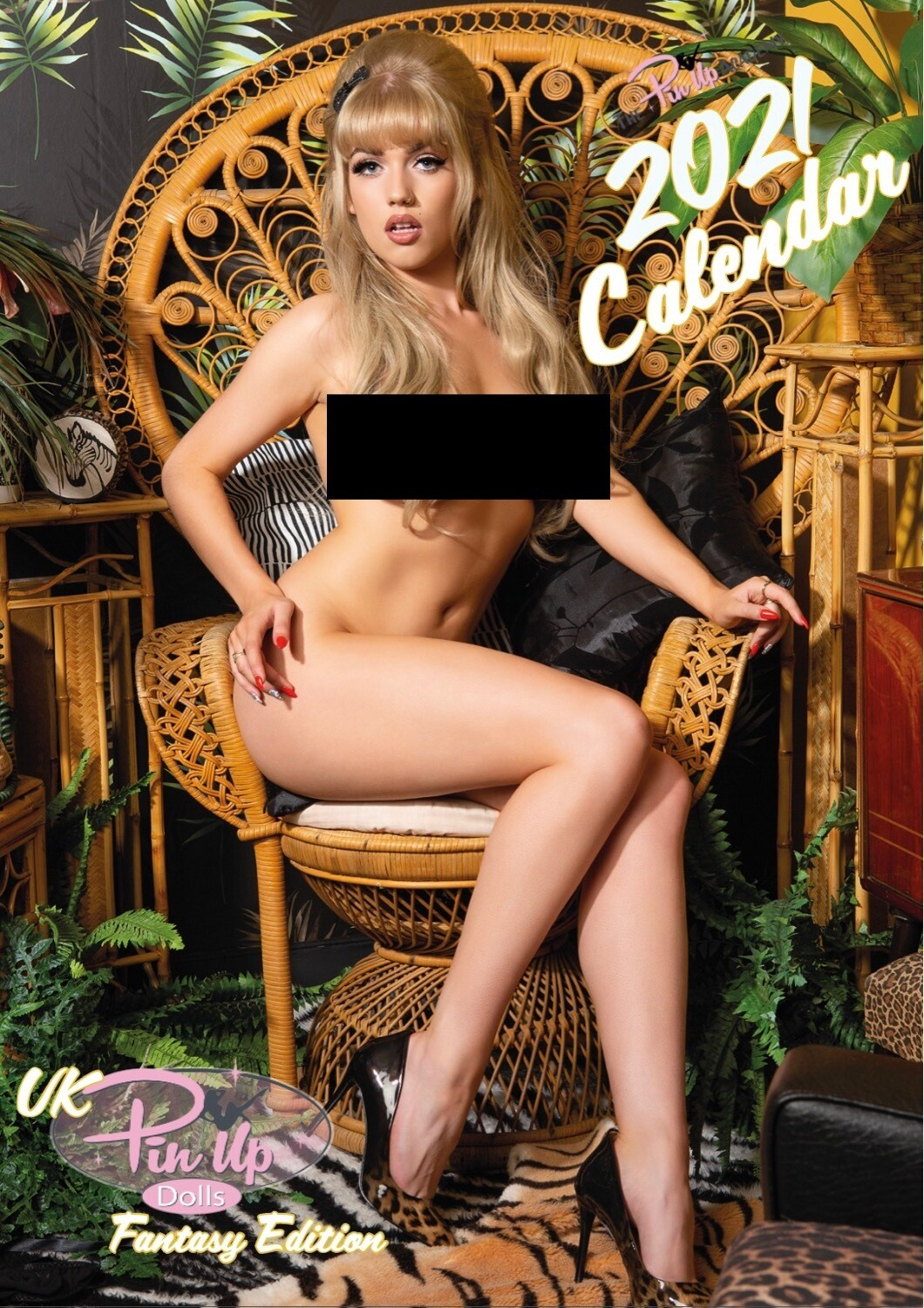 The Pinup Academy 2021 Calendar - Fantasy Edition