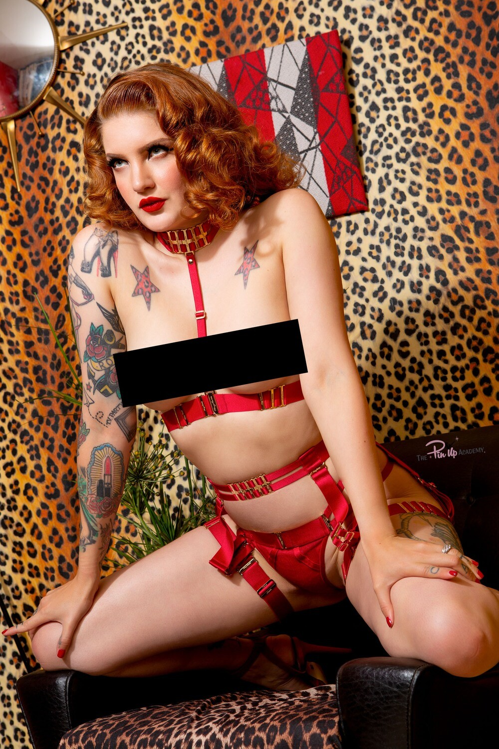 Millie Dollar Red set