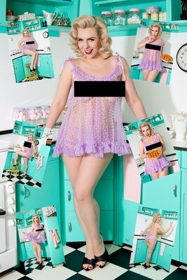 (7 Pinup Prints) Dolly Daydream ''Kitchen''