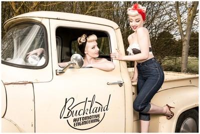 October & SINderella Bucklands
