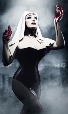 Latex Vampire Nun