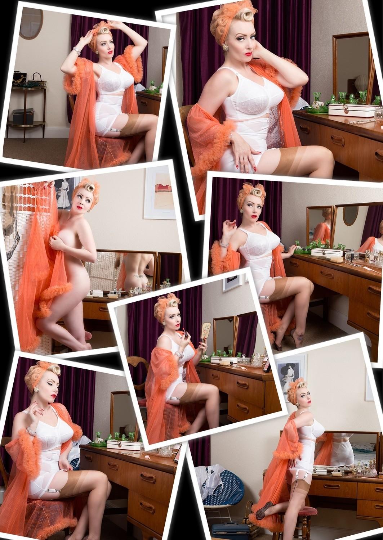 (7 Prints) BooBoo Kitty Striptease Set