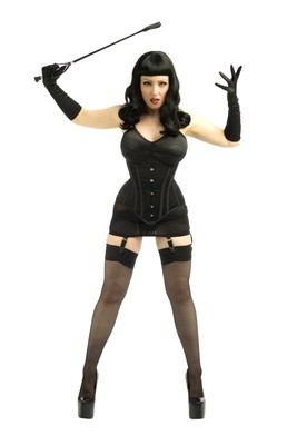 Bettie Page Inspired - Whip