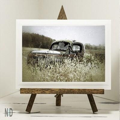 Autumn Pleasure Old Truck Print Up To 11x14 Digital Download