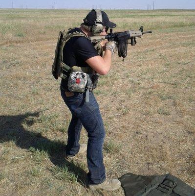 PLDS-241: Close Quarters Marksmanship I
