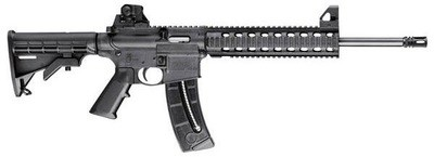 S&W M&P 15-22 Rifle, 22LR, 10RD, Black (#811062)