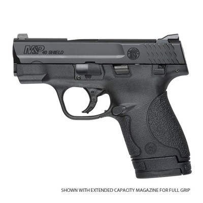S&W M&P Shield Pistol, 40SW, 7RD, Black (#180020)