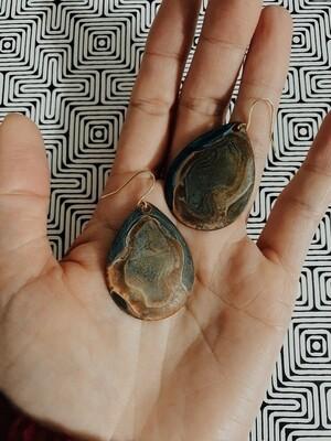 Dharma Patina Earring