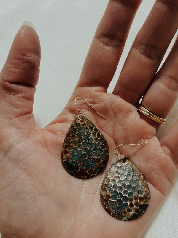 Yana Multi Patina Earring