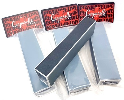 """6"""" Guitar Bass Fret Leveling Files With Self-adhesive Sandpaper 400# 600# 1000# 1200# Grit"""