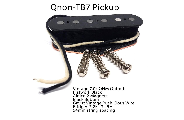 Q-TB7 Alnico V 7.3K ohms