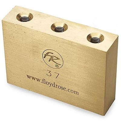 Original Floyd Rose Fat Brass Tremolo Block 37mm