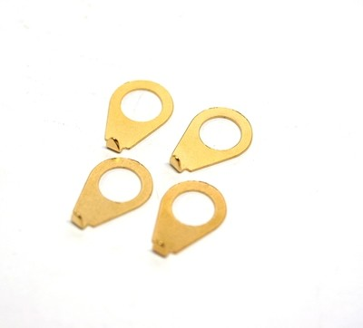 Vintage Style Pointer Washers Gold