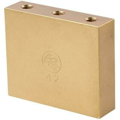 Original Floyd Rose Fat Brass Tremolo Block 42mm