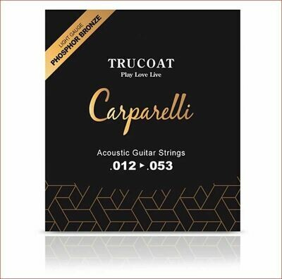 Carparelli Acoustic TruCoat String (012-053)
