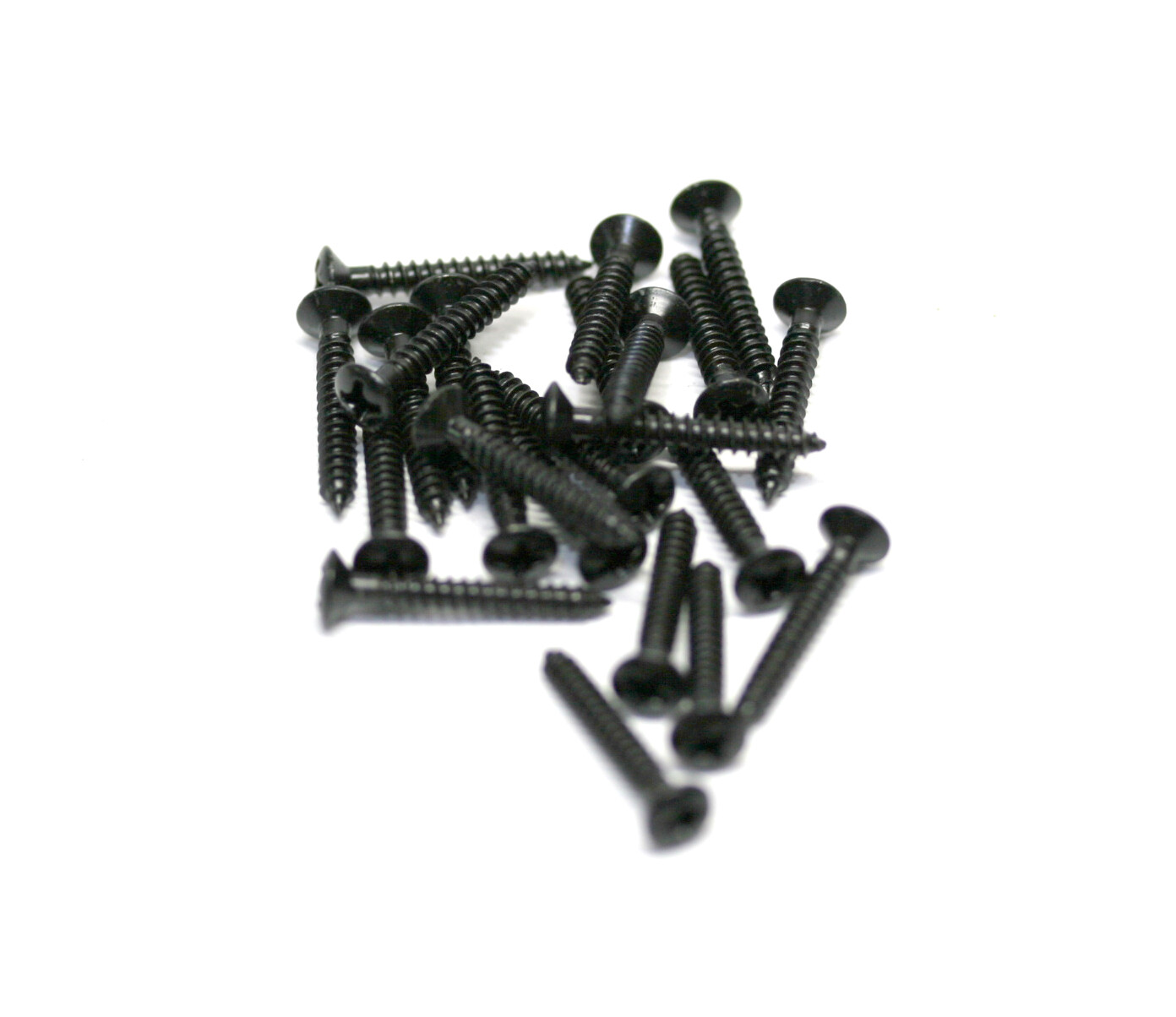 Brio 10 Pack Bridge Mounting Screws 3mmD 22mm L BLACK