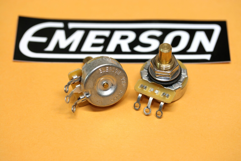 "Emerson Pro Cts - 500K SHORT (3/8"") Solid Shaft Potentiometer"