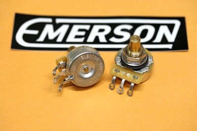 "Emerson Pro Cts - 500K SHORT (3/8"") Solid Shaft Potentiometer"