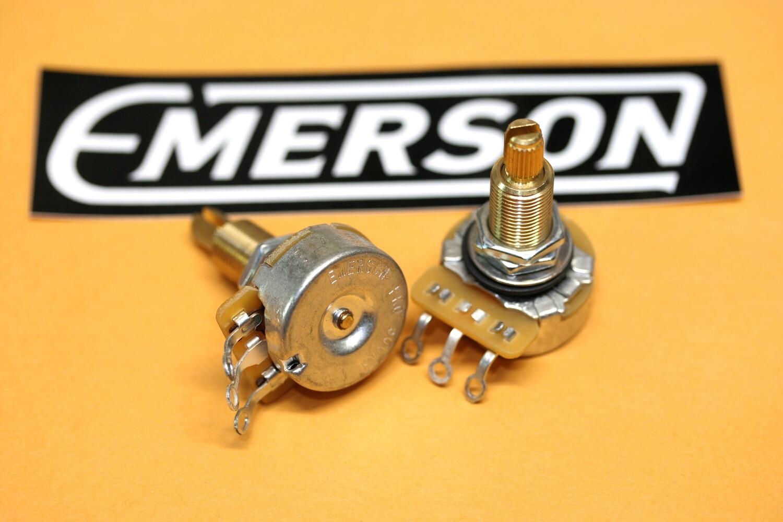 "Emerson Pro CTS - 500K Long (3/4"") Split Shaft Potentiometer"