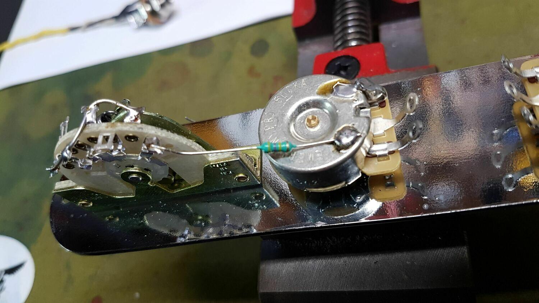 Carparelli Guitar Professional Telecaster HS Prewired Control Plate Tele Guitar