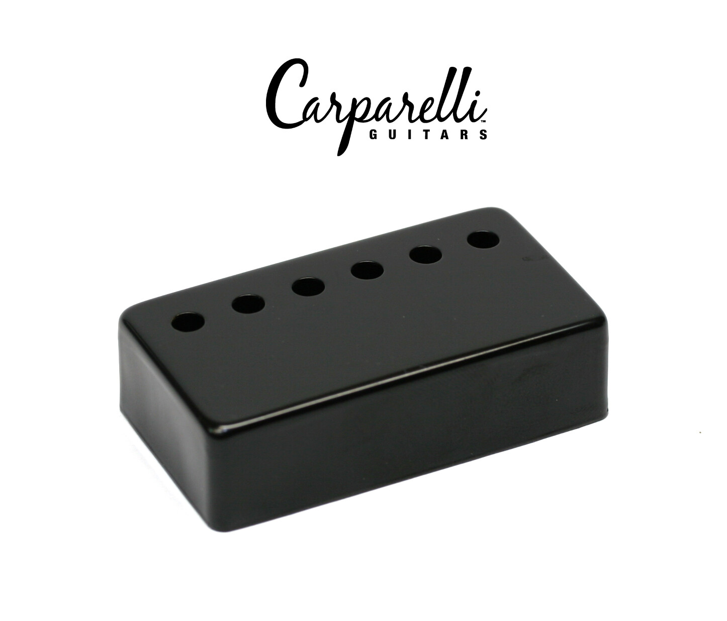 1 Carparelli Metal Humbucker Cover 50mm Black