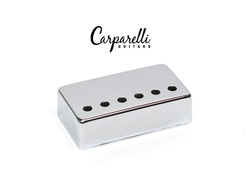1 x Carparelli Metal Humbucker Cover 52mm Chrome