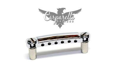 Carparelli Stop Tailpiece with Metric Studs & Anchors Chrome - made in USA
