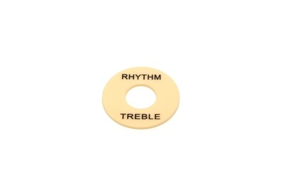 Plastic Rhythm/Treble Ring - Cream