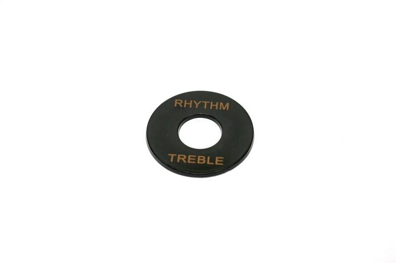 Plastic Rhythm/Treble Ring - Black