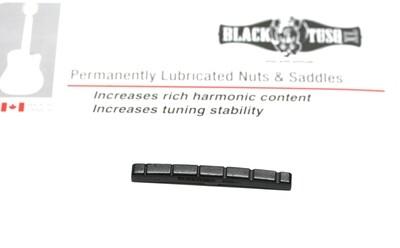 BLACK TUSQ XL FENDER STYLE SLOTTED NUT