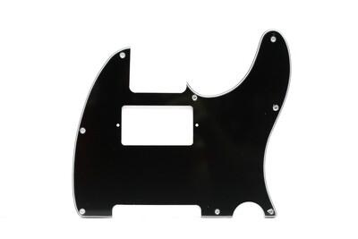 Brio Tele® Humbucker 8 hole 3 ply Black