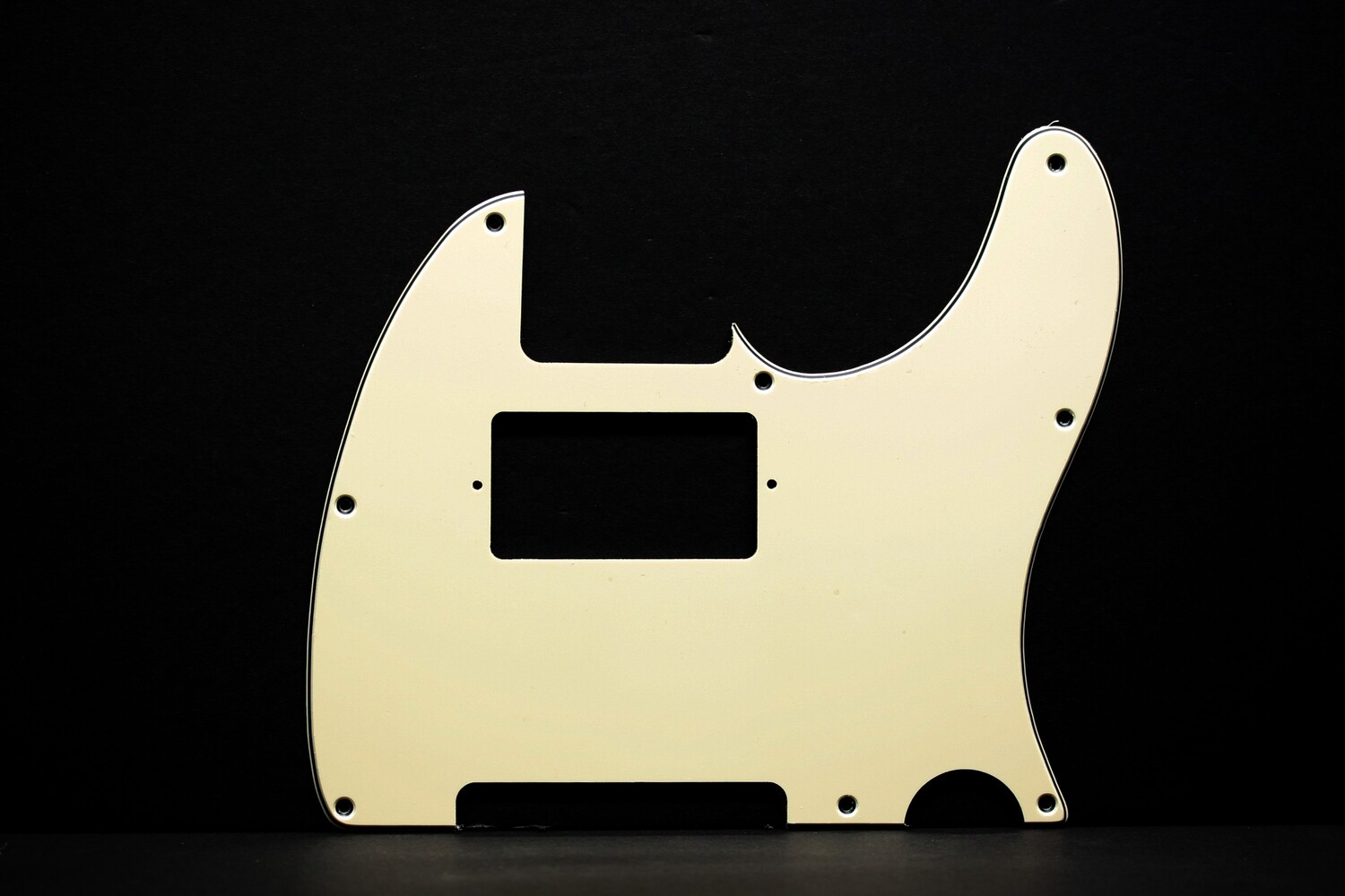 Brio Tele® Humbucker 8 hole 3 ply Cream