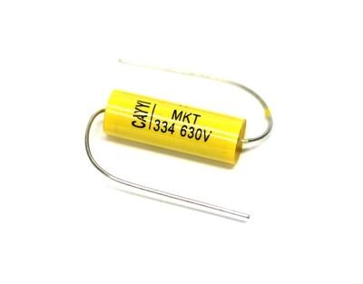 Brio 2 x Yellow Jackets 0.033uf 630v Capacitors Guitar/Amp