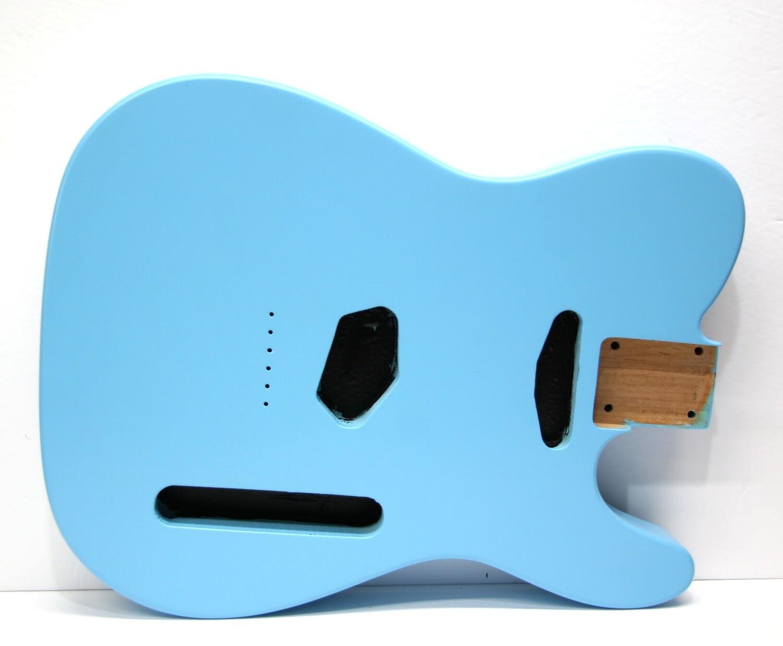 Brio Tele Body Sonic Blue Nitro 2pc Alder