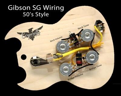 Carparelli Emerson Gibson SG 50's Style