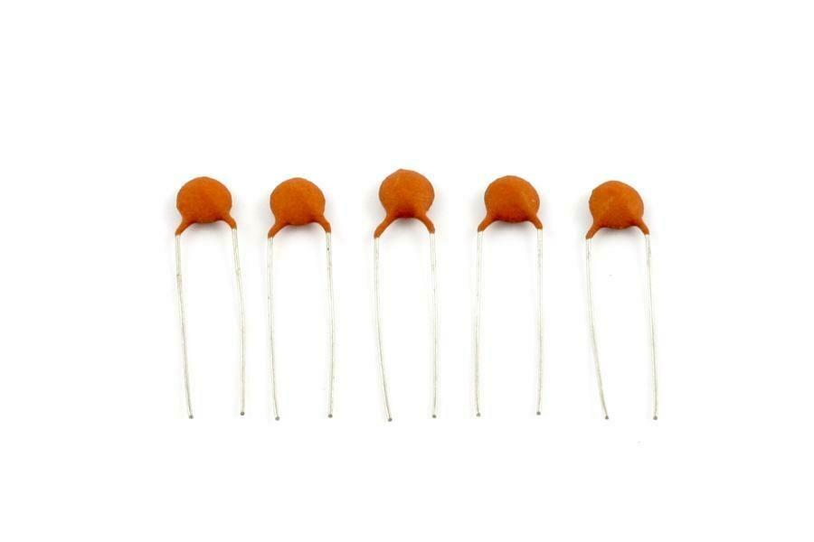 .02 MFD Ceramic Disc Capacitors pack of 5