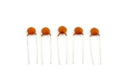 .005 MFD Ceramic Disc Capacitors pack of 5