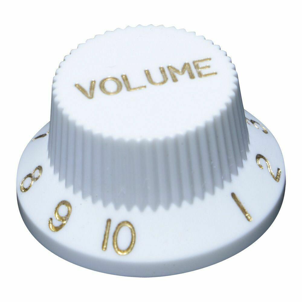 White Strat Style US Size 1 vol 2 tone