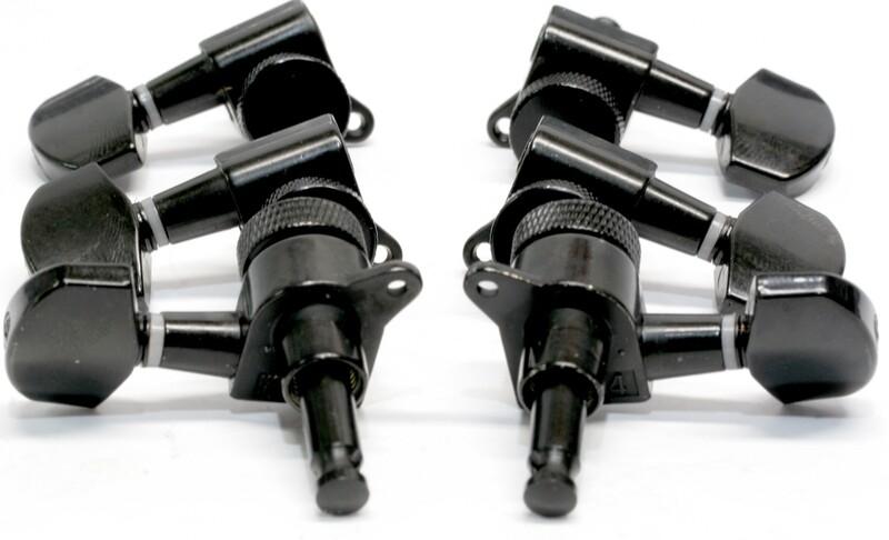 Brio 3x3 Black Locking Machine Heads Tuners 15:1 Ratio