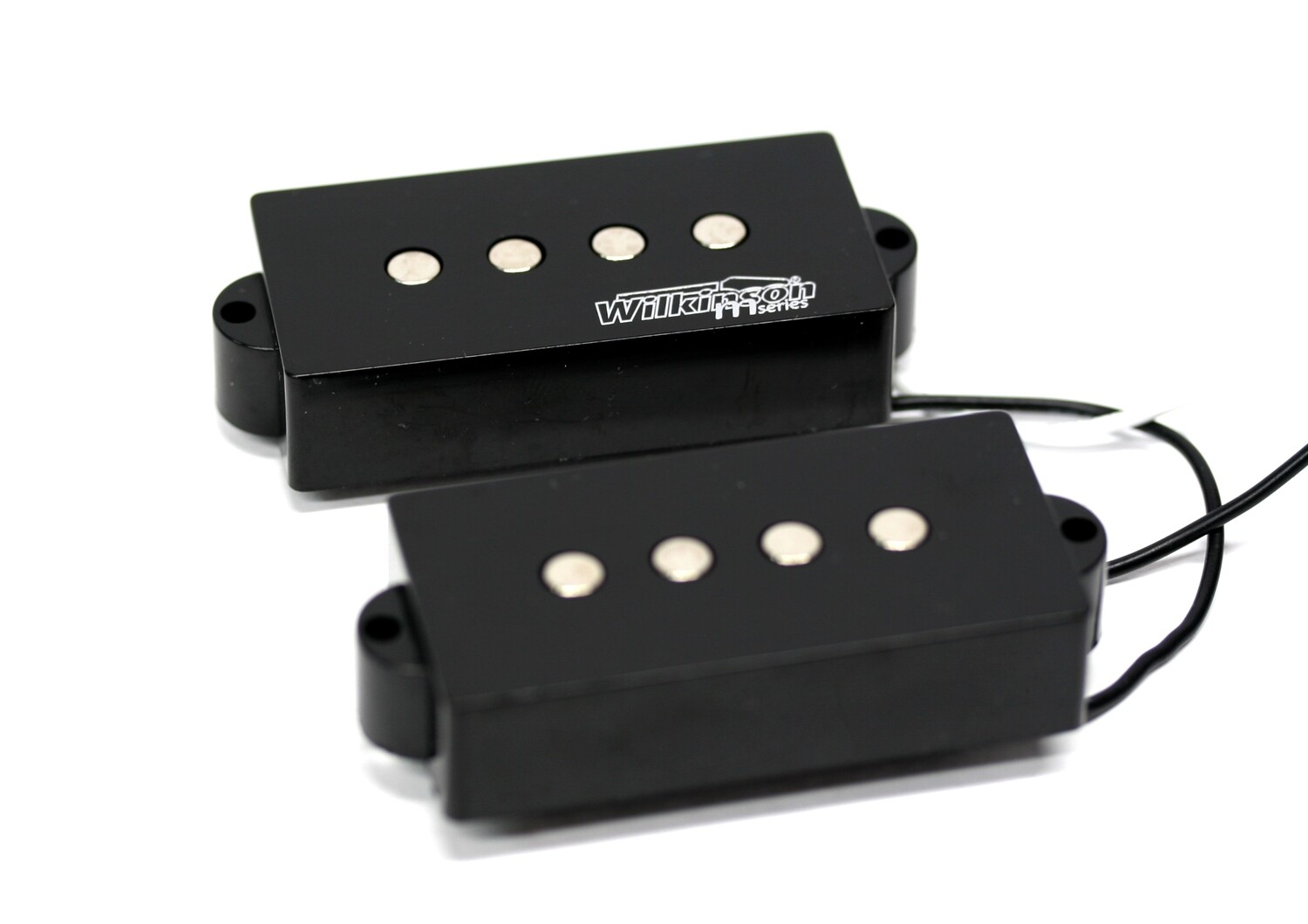 Wilkinson Variable Gauss Ceramic Traditional Precision Bass Humbuckers Pickups Set for PB Style Electric Bass