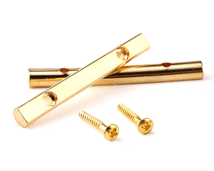 Brio Guitar String Tree Guides String Retainer Bar for Floyd Rose Style Replacement Parts Gold