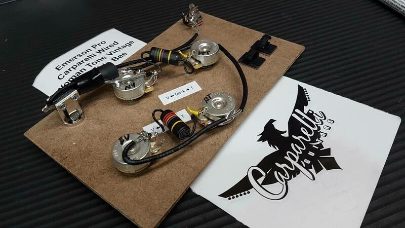 Emerson Pro Carparelli Wired E335 Wire Harness Woman Tone BumbleBee