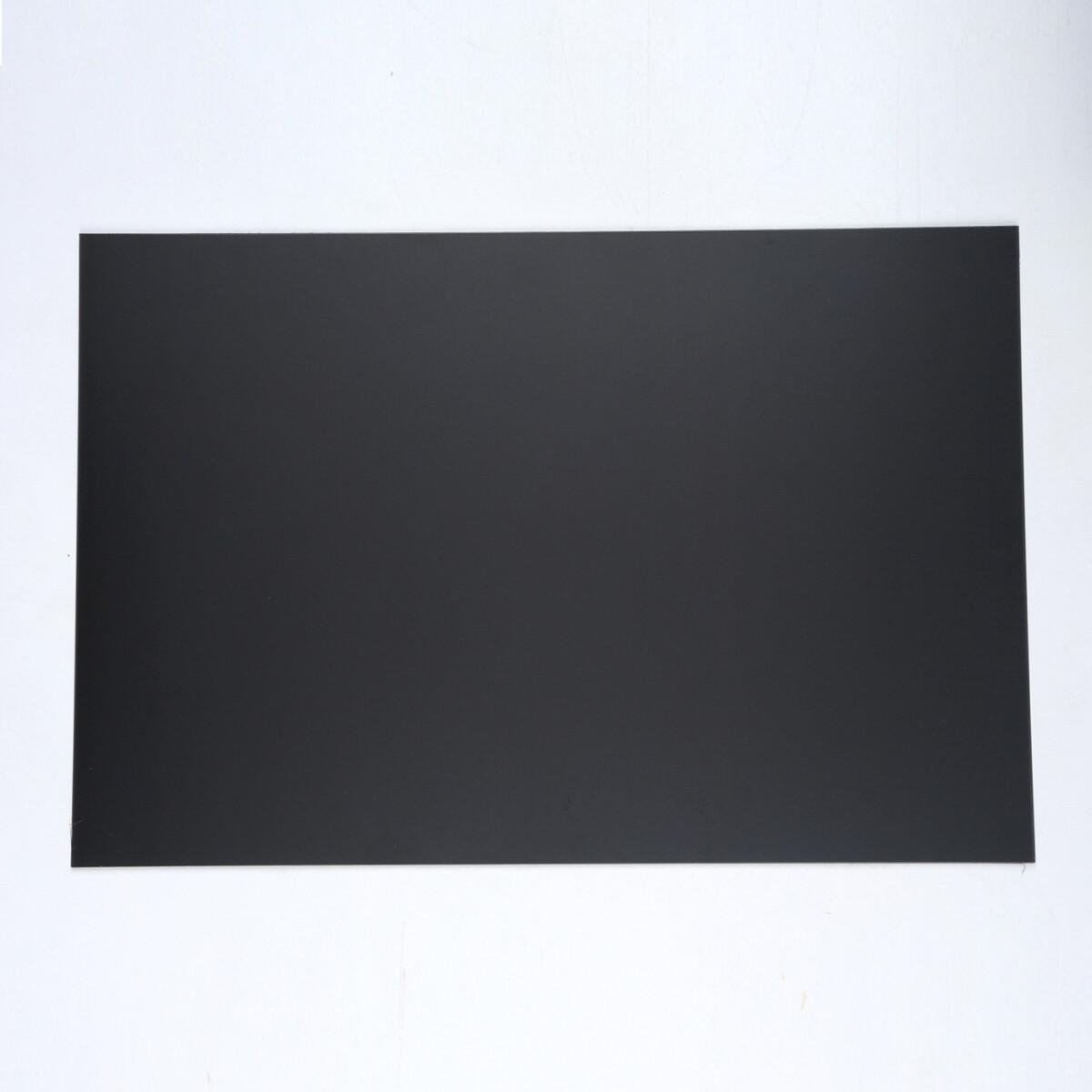 "Brio Pickguard Blanks 12"" x 17"" 1 Ply  Black"