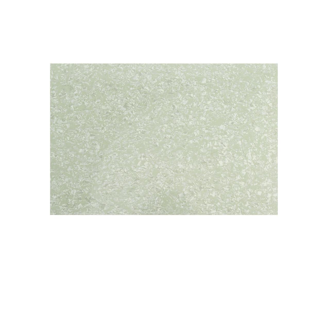 """Brio Pickguard Blanks 12"""" x 17"""" 4 Ply Pearloid Mint Green"""