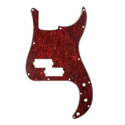 Brio 13 Hole 4 String Precision Bass, No Notch, Red Tortoise